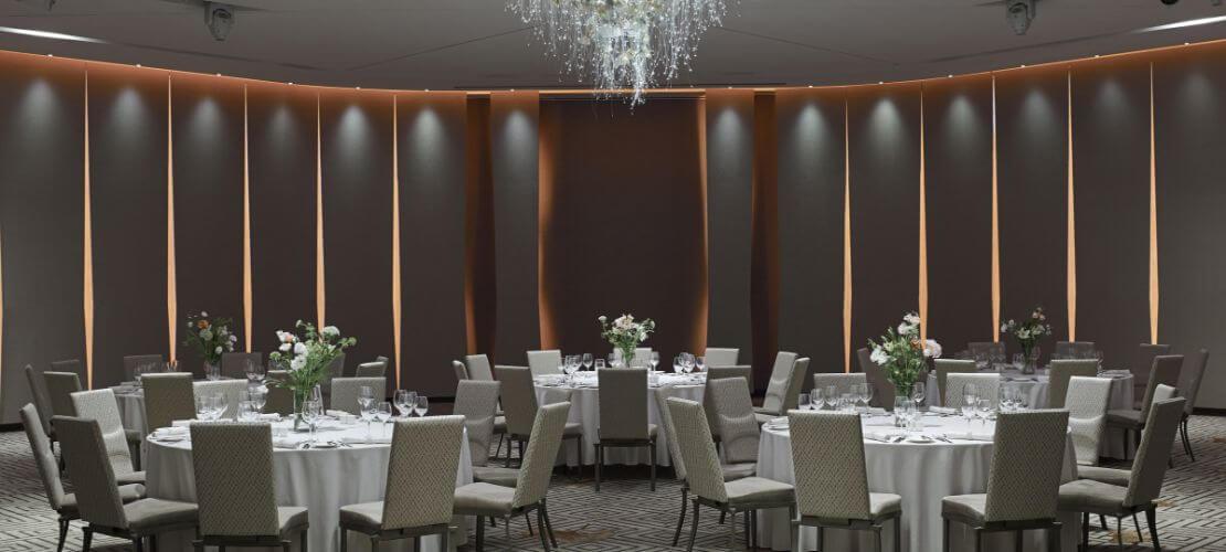 Four Seasons Ballroom Dining Style