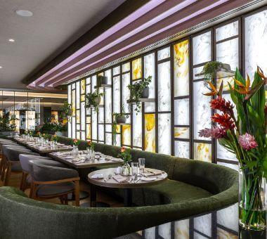 Kalypso Restaurant window view